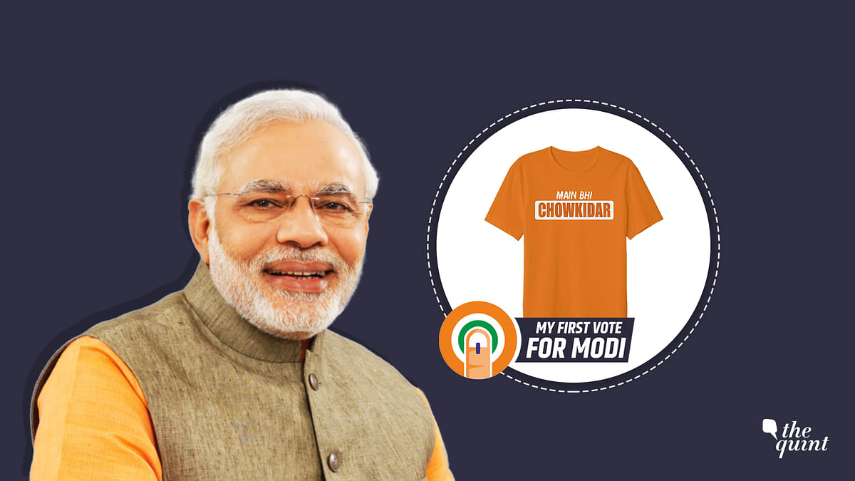 Pro-BJP FB Pages Offer NaMo Products For Votes. Is This A Bribe?