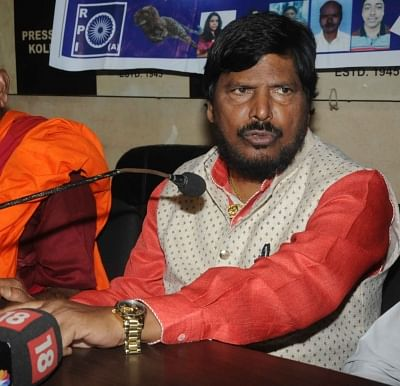 Ramdas Athawale. (Photo: IANS)
