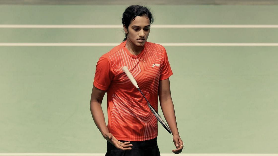 Olympic and World Championship silver medallist PV Sindhu crashed out in the opening round of the All England Championships in Birmingham.