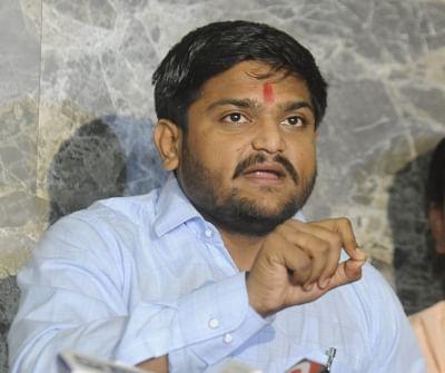 Anamat Andolan Samiti (PAAS) leader Hardik Patel. (File Photo: IANS)