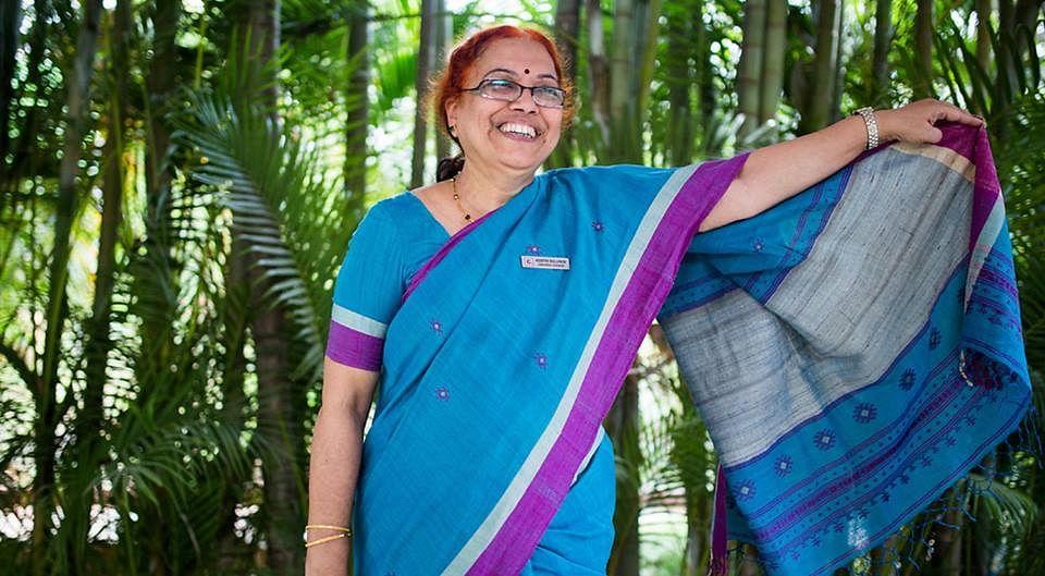 Keerthi Bollineni, a social activist from Andhra Pradesh