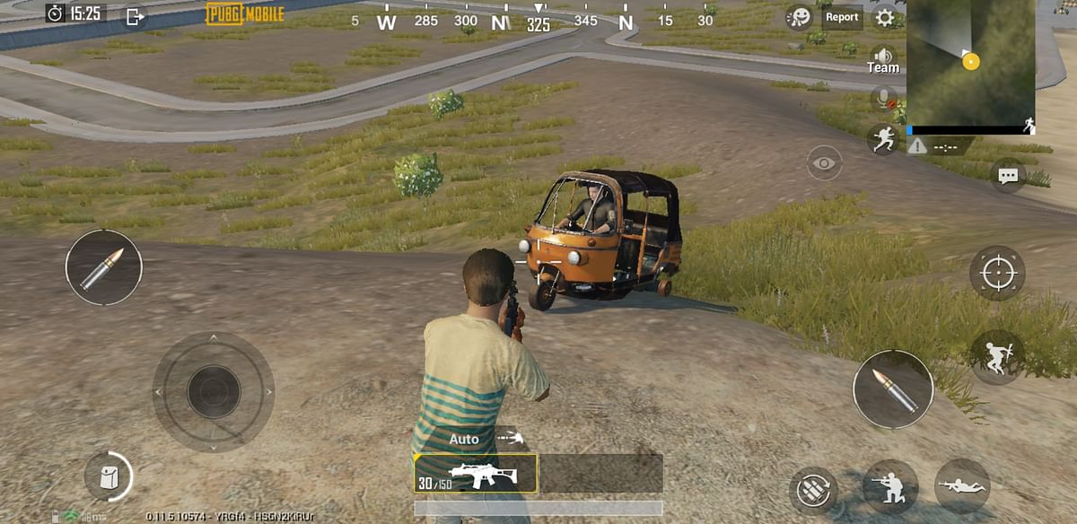 The game adds an auto rickshaw in the upcoming update.