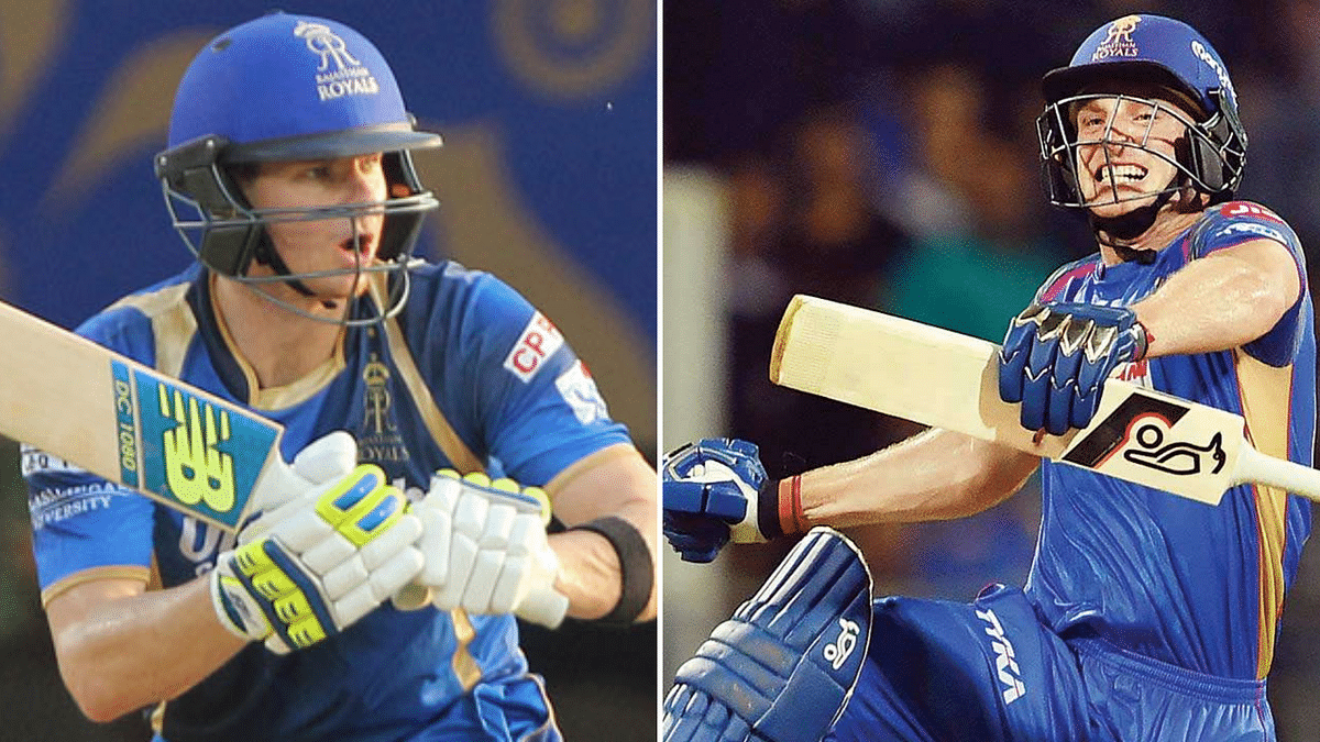 Back in the Rajasthan Royals setup after being banned in 2018, Steven Smith (left) is excited to play with Jos Buttler during IPL 2019.