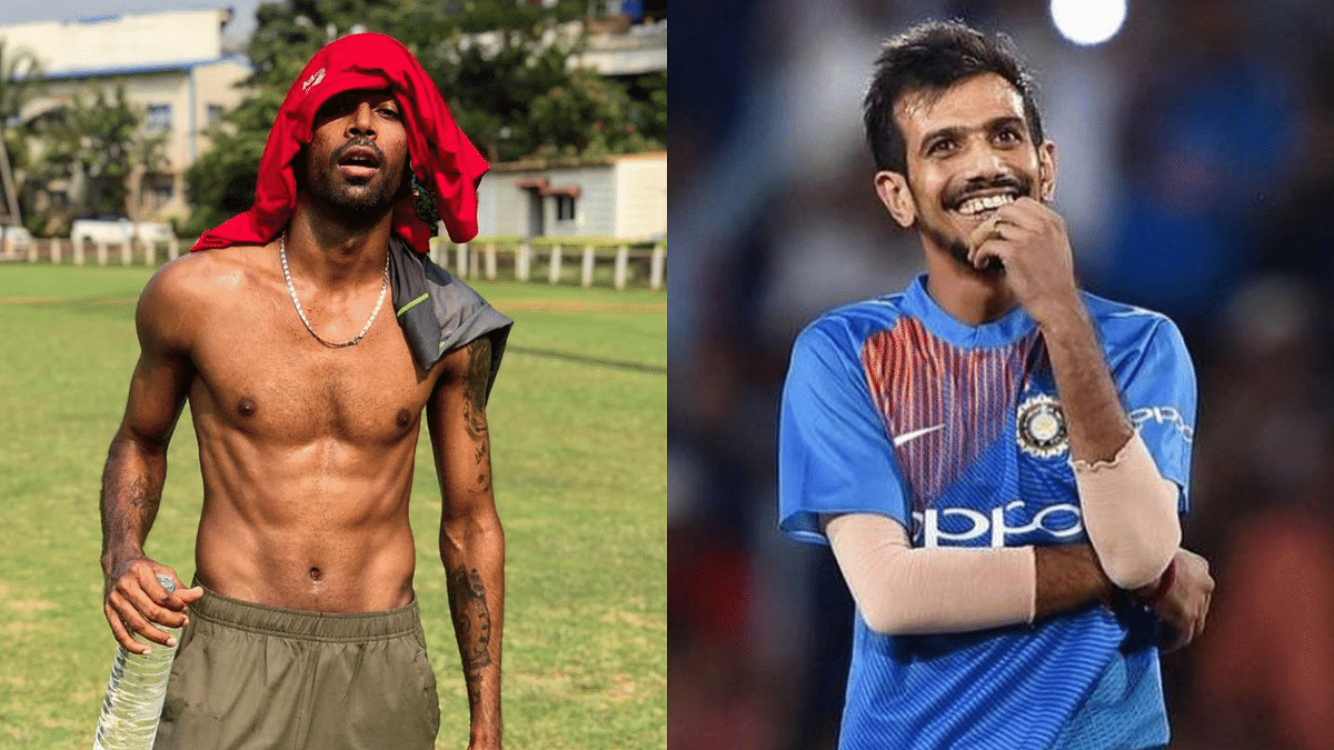 Hardik Pandya and Yuzvendra Chahal indulge in some social media banter.