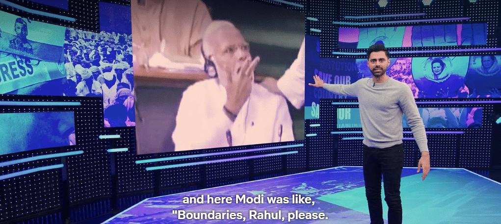 The one hug Modi didn't like.