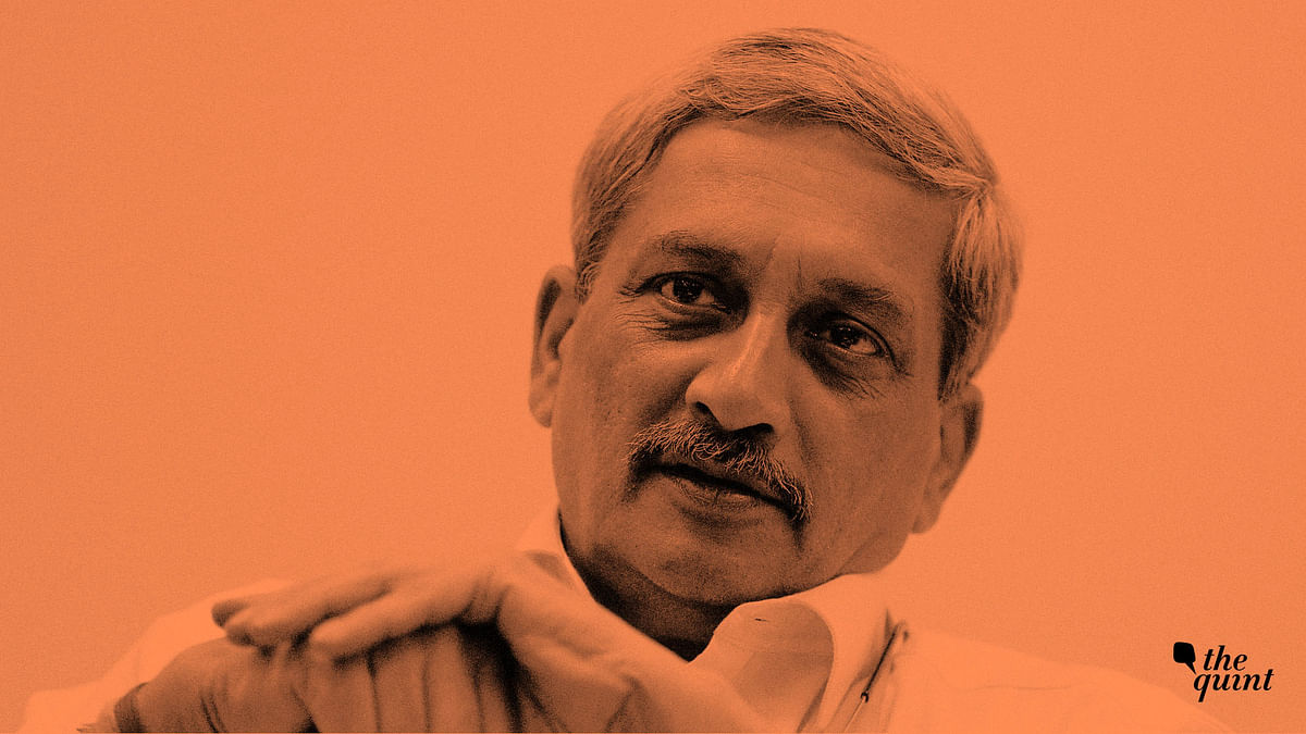Manohar Parrikar was Goa's chief minister for the fourth time since 2017.