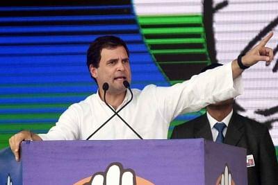 Congress President Rahul Gandhi. (File Photo: IANS)