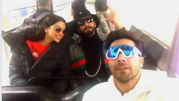 Varun Dhawan called Deepika Padukone and Ranveer Singh his 'adopted parents'.