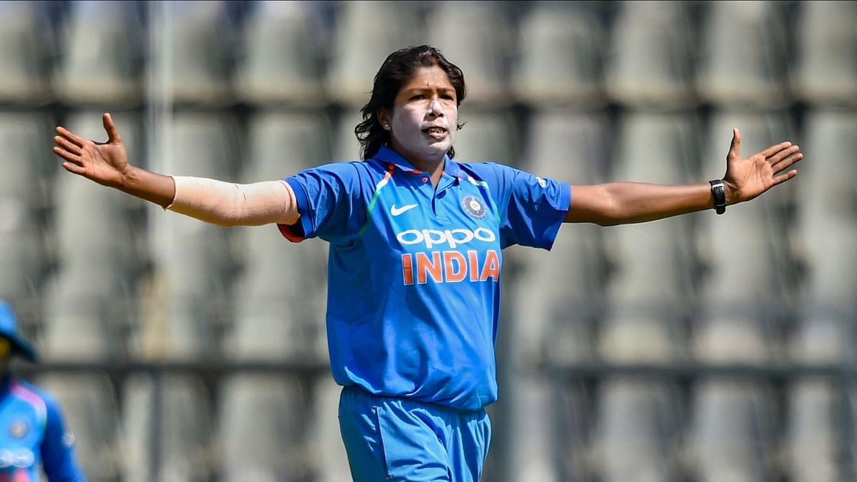 India's veteran pacer Jhulan Goswami rose to the summit of the ICC women's rankings for ODI bowlers.