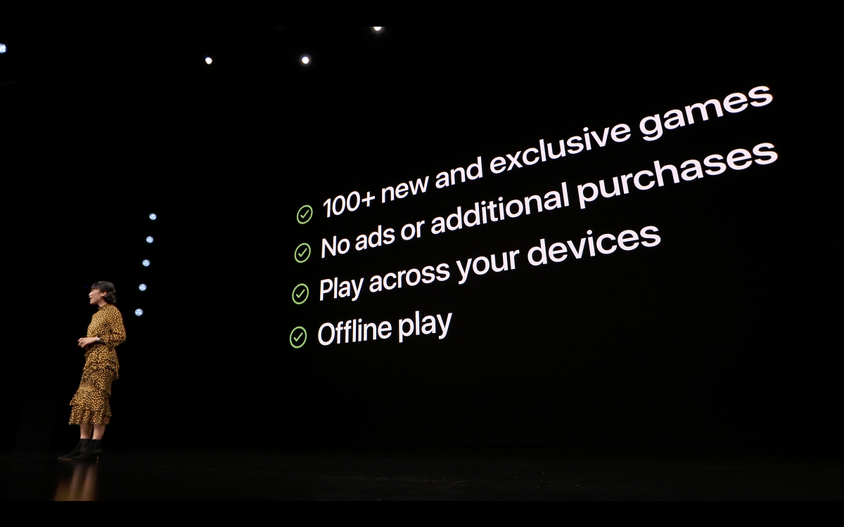 Offline gameplay will be available on Apple Arcade.