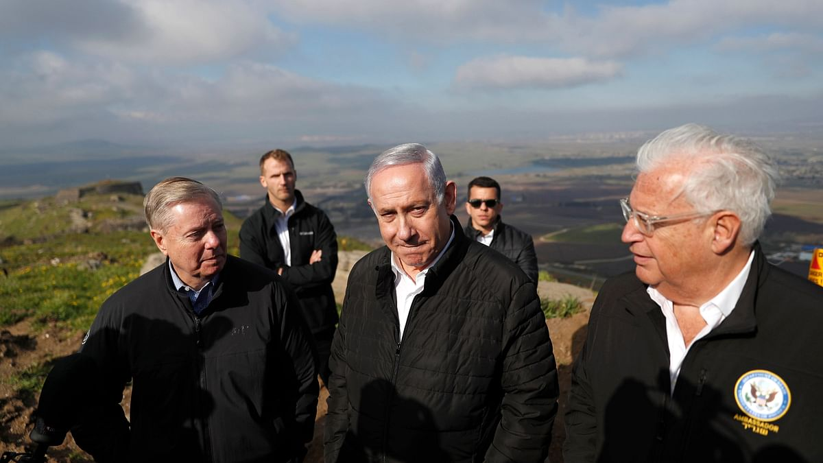 US Changes Golan Heights from Israeli 'Occupied' to 'Controlled'