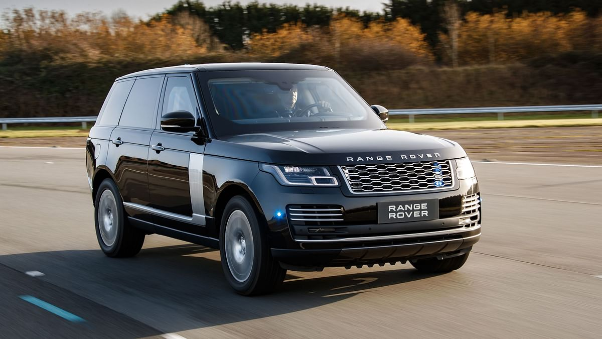 The new Range Rover Sentinel.