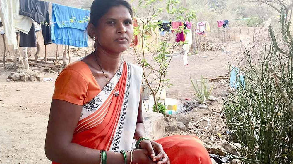 Like many women in rural India that lack basic amenities, Damsari Ozre, 29, is up at 5 am every morning to collect enough water for bathing and breakfast. It is a task she repeats in the evening, spending 3 hours a day on this.