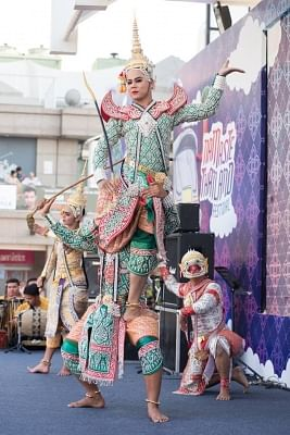 Namaste Thailand Festival, 2018. (Photo Source: Royal Thai Embassy)