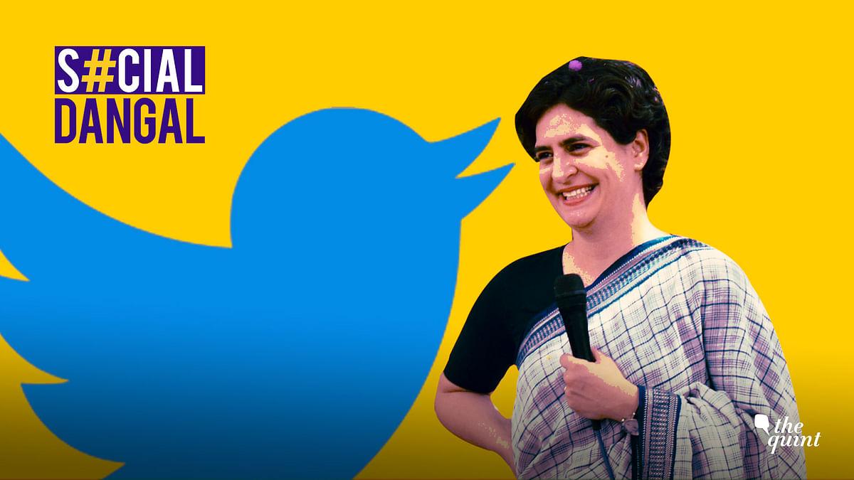 Priyanka Gandhi joined Twitter on 11 February.
