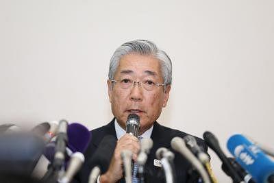 Tsunekazu Takeda. (Xinhua/Du Xiaoyi/IANS)