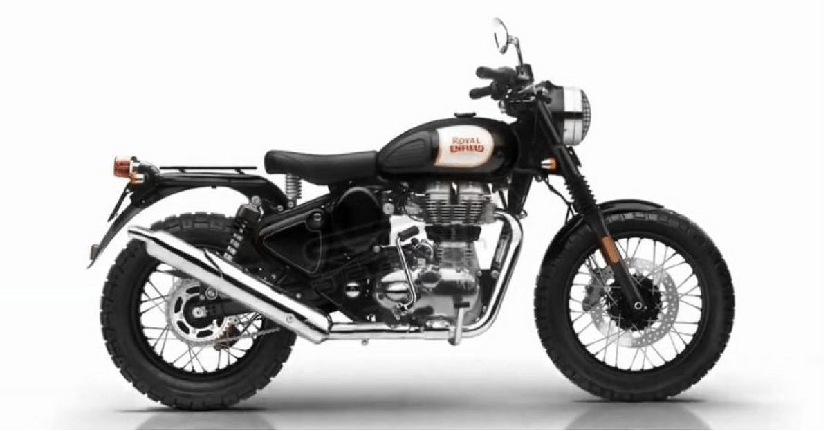 An artist's impression of what the Royal Enfield Trials will look like.