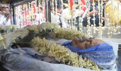 Kolkata: The mortal remains of Matua matriarch Binapani Devi, popular as