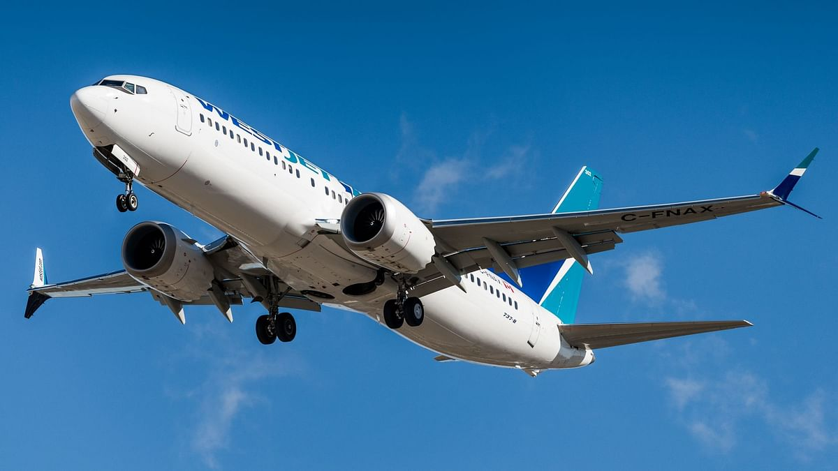 The Boeing 737 Max 8.