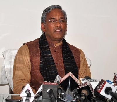 Uttarakhand Chief Minister Trivendra Singh Rawat. (Photo: IANS)