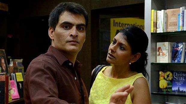 Manav Kaul and Nandita Das in 'Albert Pinto Ko Gussa Kyun Aata Hai'.