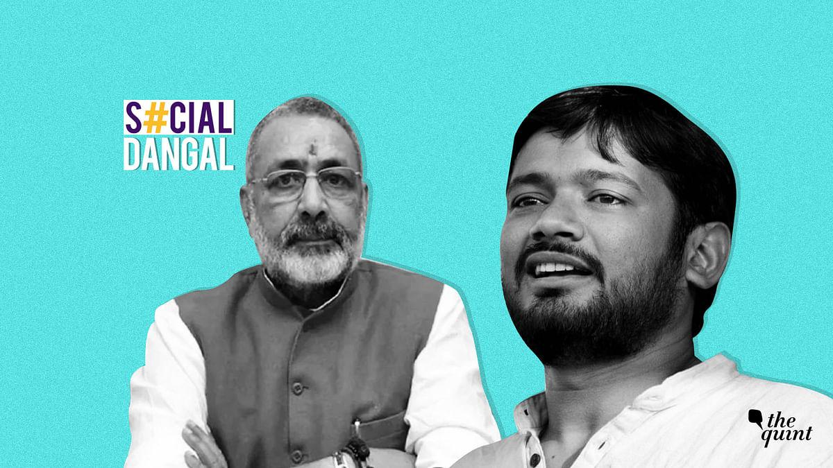 'Afraid Of Begusarai?' Kanhaiya, RJD & Twitter Roast Giriraj Singh