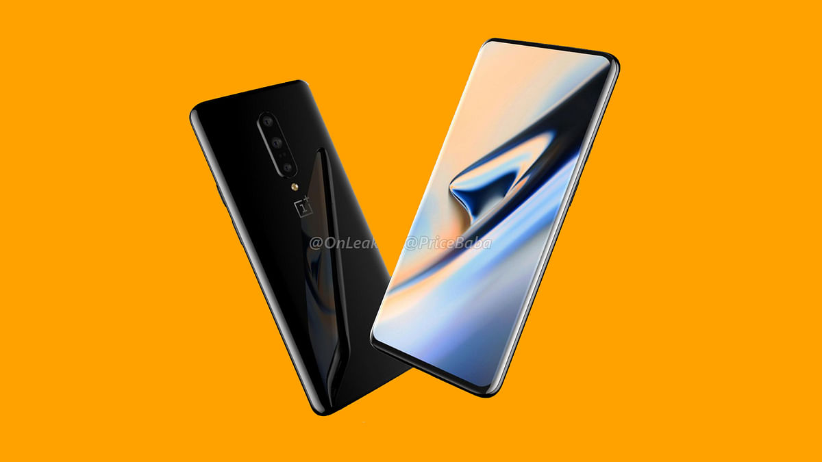 OnePlus 7 Pro With Bezel-Less Screen, Triple Rear Camera Spotted