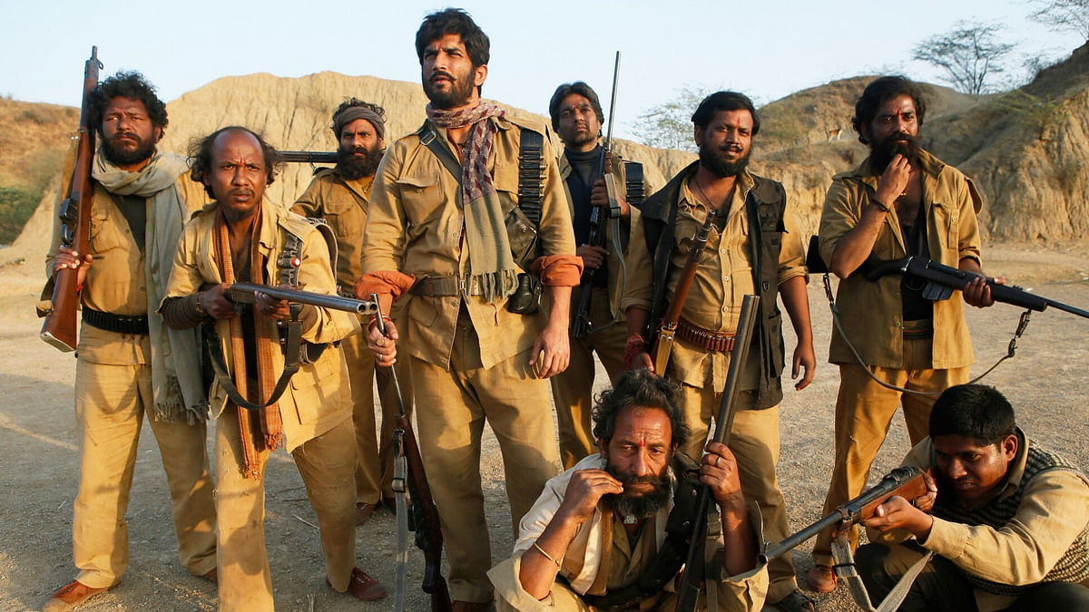 Set in 1975, <i>Sonchiriya</i> is based on the bandits who once ruled the ravines of the Chambal.