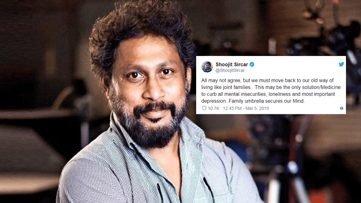 Shoojit Sircar's Comment on Joint Families Stirs Up Twitter Storm