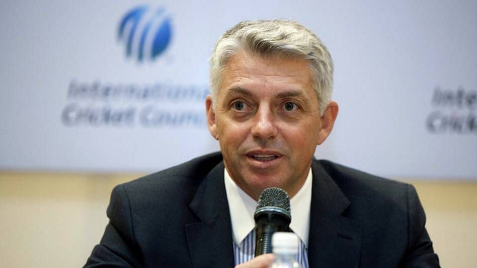 File picture of ICC Chief Executive David Richardson.