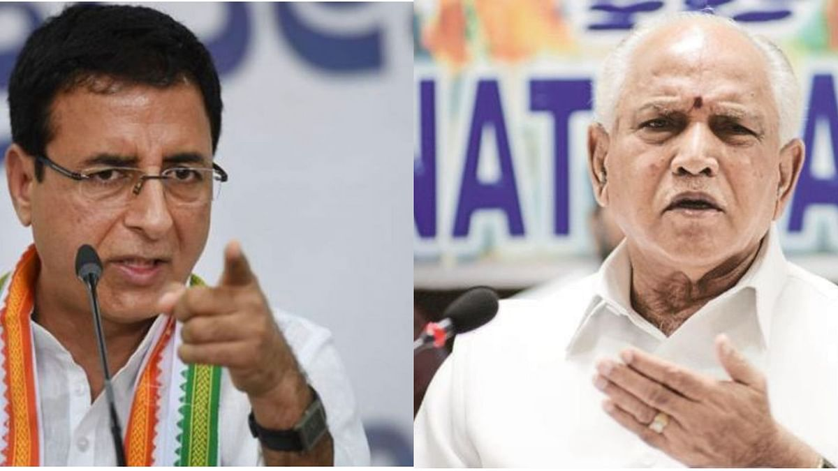 'BSY Paid Rs 1,500 Cr to BJP Leaders,' Cong Alleges, Citing Report