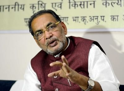 Union Agriculture Minister ans BJP leader Radha Mohan Singh. (File Photo: IANS)