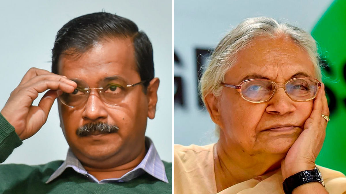 'Cong Has an Arrangement With BJP': Kejriwal After Sheila's Snub