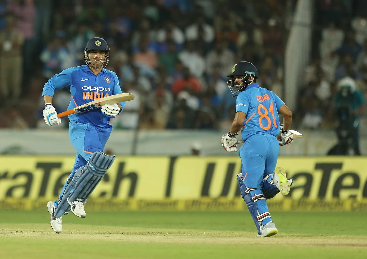 MS Dhoni and Kedar Jadhav have shared match-winning undefeated century stands in the last two ODIs between India and Australia.