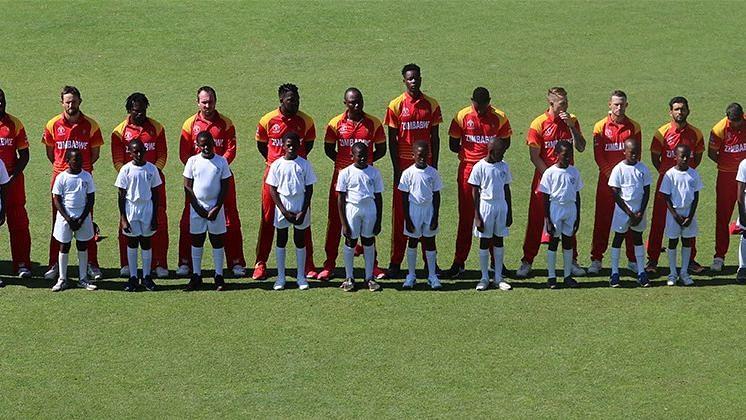 File photo of Zimbabwe's cricket team.