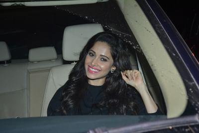 Mumbai: Actress Rakul Preet Singh arrives to celebrate Sidharth Malhotra