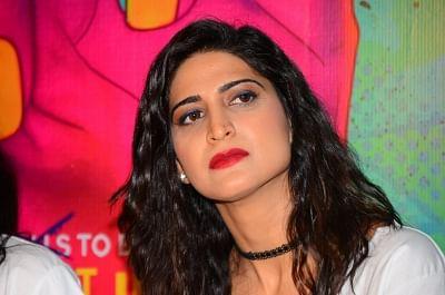 Mumbai: Actress Aahana Kumra during the trailer launch of film Lipstick Under My Burkha, in Mumbai on June 27, 2017. (Photo: IANS)