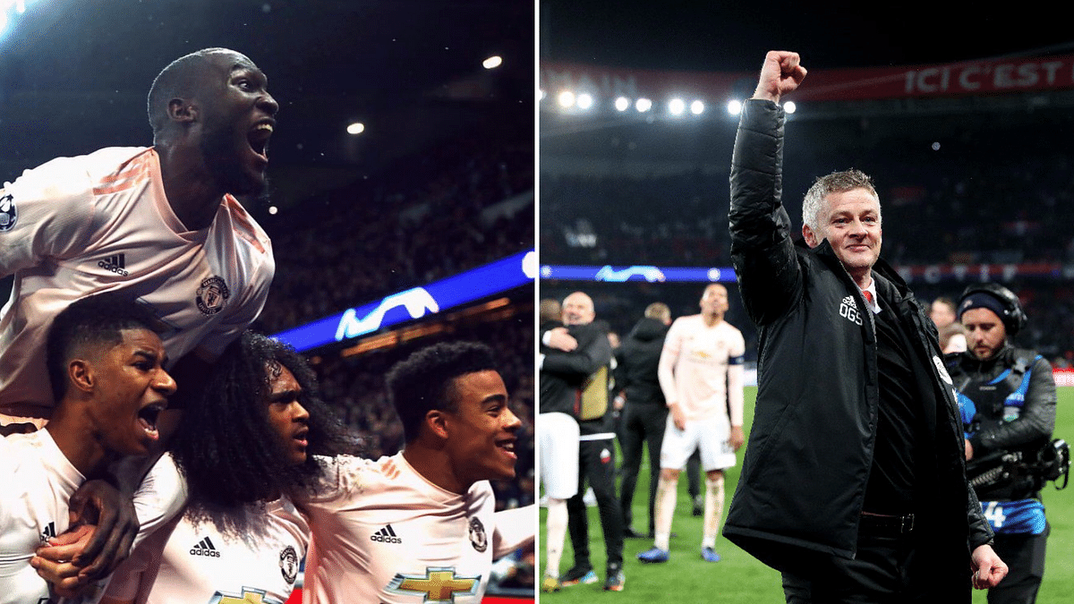 Manchester United overturned a 0-2 first leg deficit with a 3-1 victory at PSG to miraculously progress from their Champions League round of 16 tie.