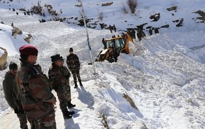 Kinnaur: Search operations underway to find five soldiers reported missing in the snow-bound Himalayan terrain of Himachal Pradesh
