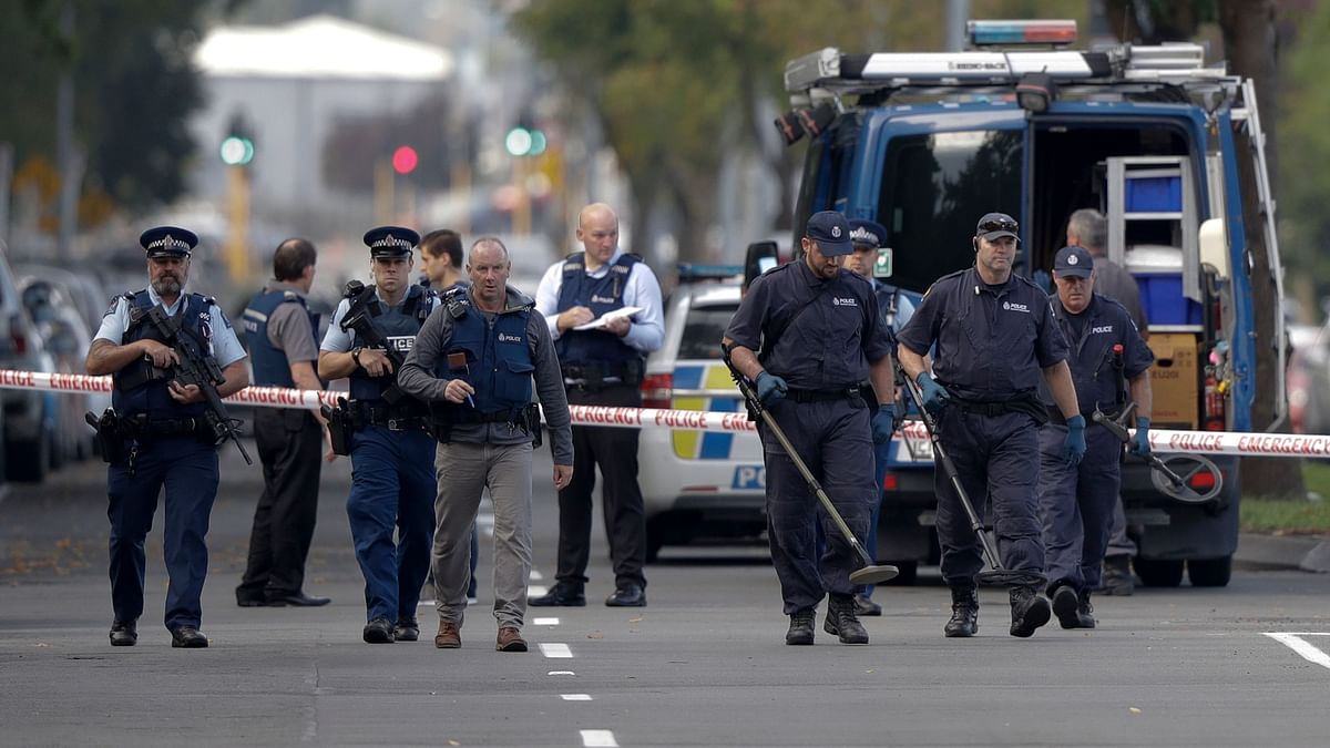 At least 40 people have died in the two mass shootings at two mosques in the New Zealand city of Christchurch.