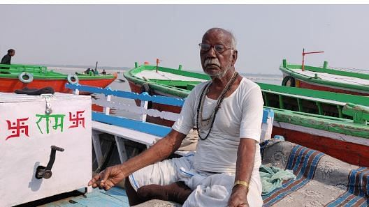 Baijnath Majhi said he has seen air and water quality in Varanasi deteriorate over his lifetime. These are changes that should, normally, take hundreds of years, according to experts.