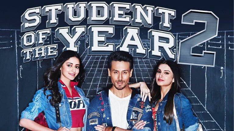 Poster of <i>Student of the Year 2.</i>