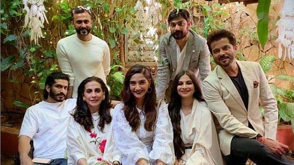 Sonam, Anil, Janhvi Wish Rhea Kapoor on Her 32nd Birthday