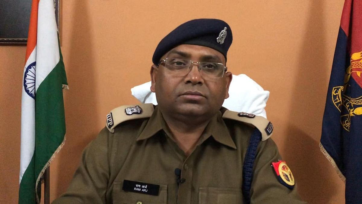 Ram Arj, CO, Sadar Police Station, Meerut