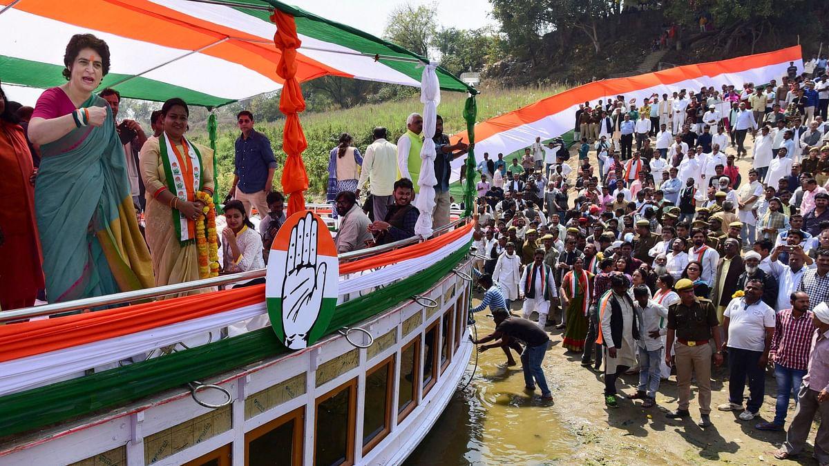 Priyanka Gandhi Kickstarts Poll Campaign in UP During Ganga Yatra