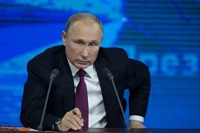 Russian President Vladimir Putin . (Xinhua/Bai Xueqi/IANS)