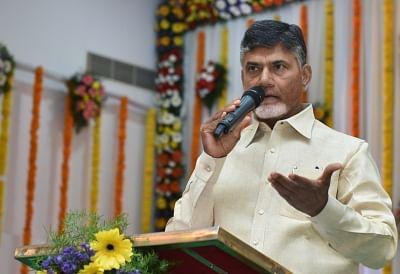 Andhra Pradesh Chief Minister N Chandrababu Naidu. (File Photo: IANS)