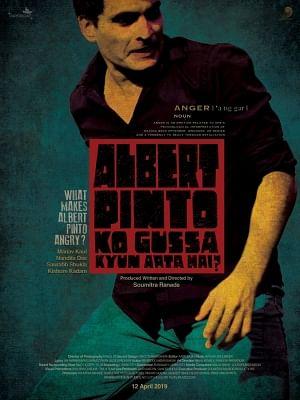"Poster of ""Albert Pinto Ko Gussa Kyun Aata Hai?""."