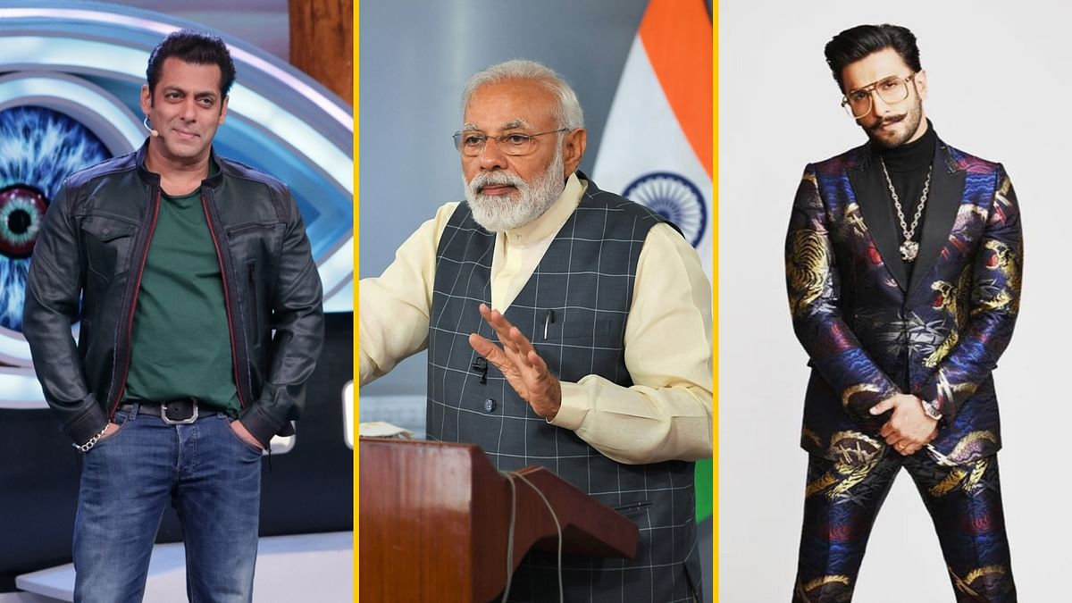 PM Modi has appealed to Bollywood celebs like Ranveer Singh and Salman Khan to encourage their fans to vote.
