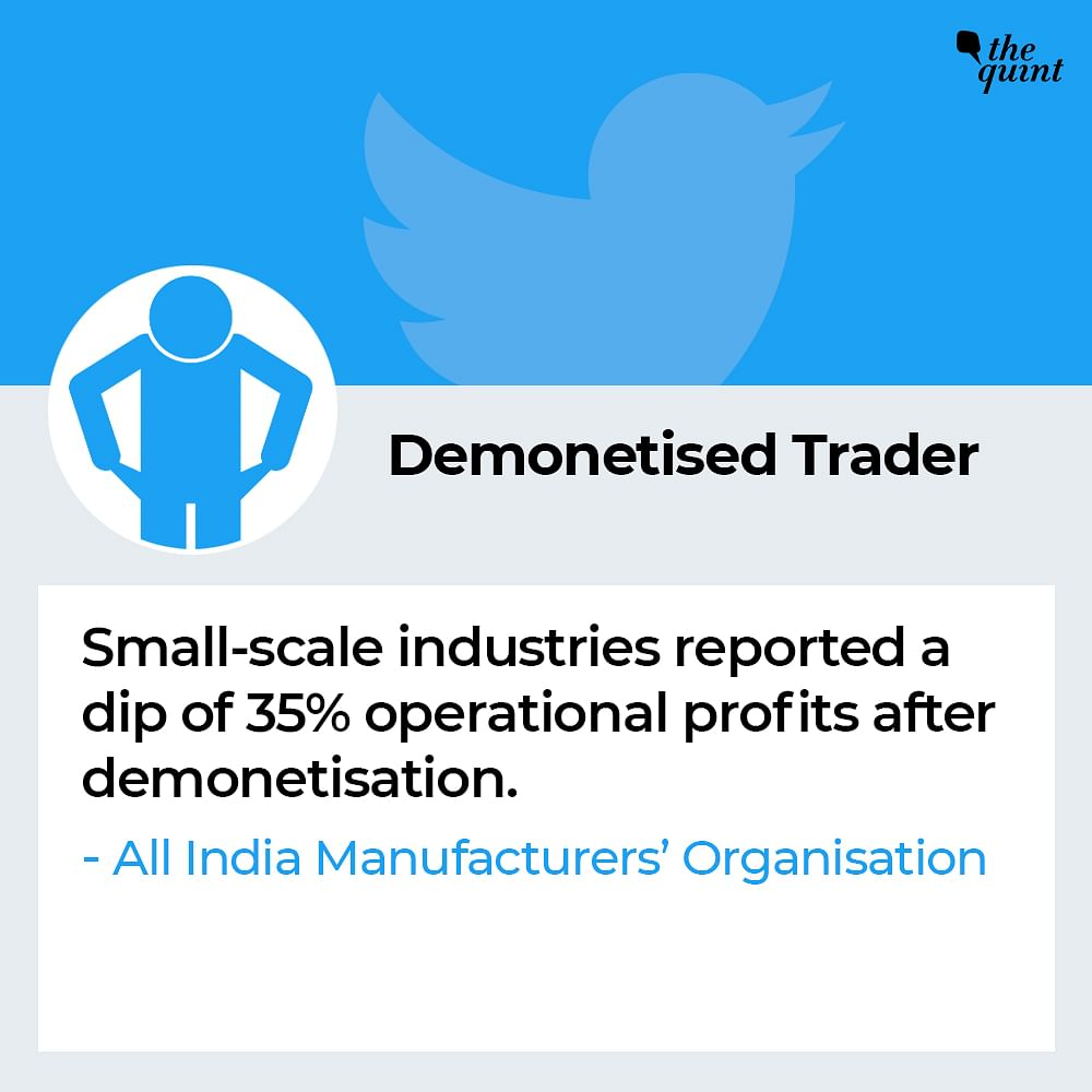 'Demonetised Trader'
